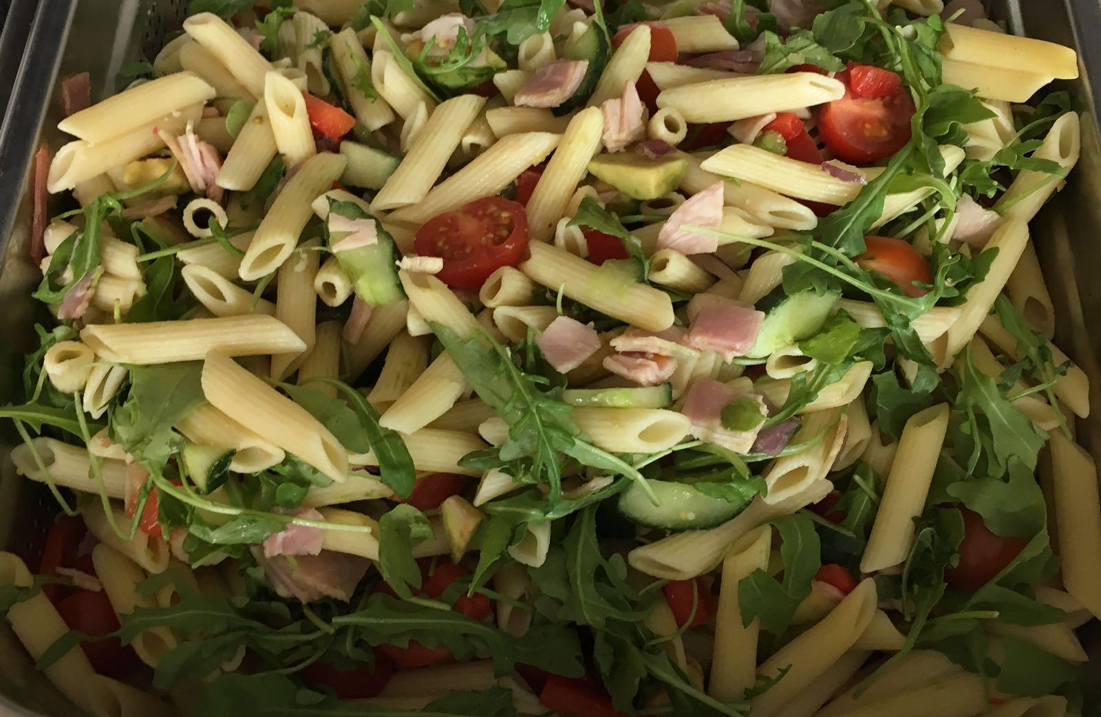 Feestbuffet Pasta salade